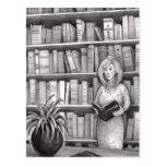 Book Reading Postcard