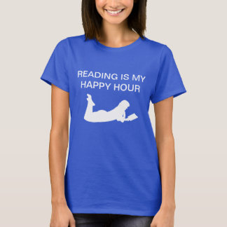 Book Reading Theme Tee Shirts