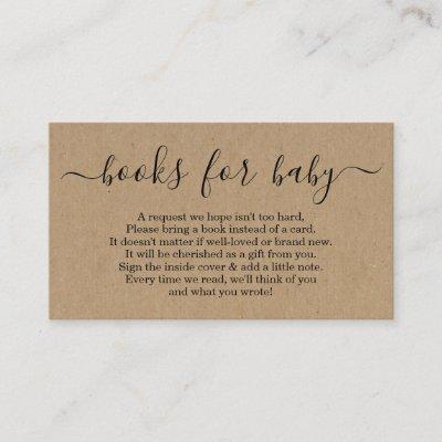 book request baby shower invitation insert card zazzle com