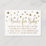 """Book Request Insert Card<br><div class=""""desc"""">Insert these cards into your baby shower invitations when requesting books instead of cards. These cards are made to match our Twinkle,  Twinkle Little Star Collection.   *This designs contains elements that simulate glitter and foil,  but no actual glitter or foil is printed.</div>"""