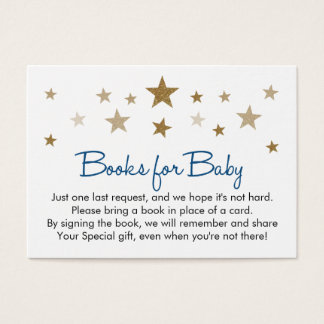 Book Request Insert Card