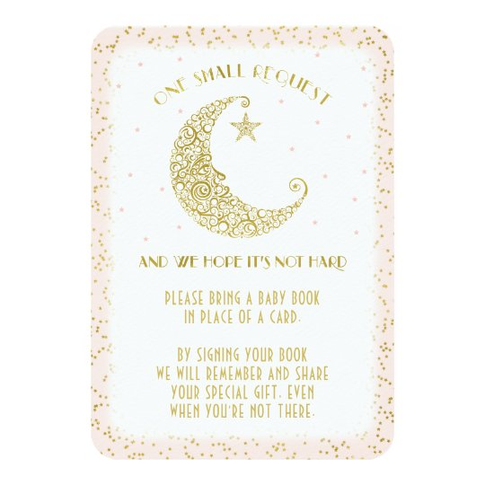 book request twinkle little star baby shower card | zazzle, Baby shower invitations