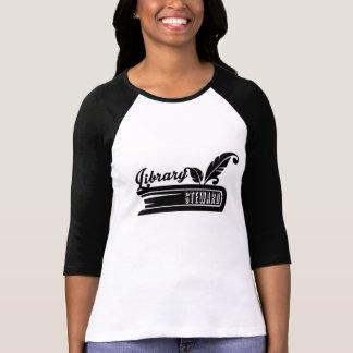 Book & Scroll Steward - Women's 3/4 Sleeve Raglan T-Shirt
