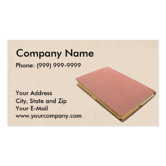 Book Seller Business Cards