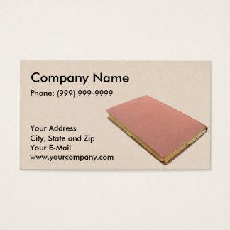Book Seller Business Card