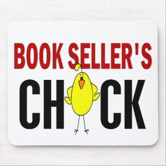 BOOK SELLER'S CHICK MOUSE MATS