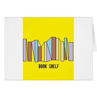 Book Shelf Card