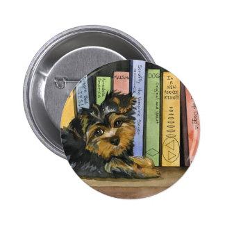 Book Shelf Cutie Pinback Button