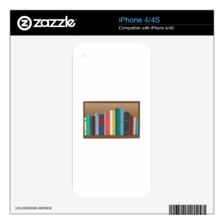 Book Shelf Decals For The iPhone 4