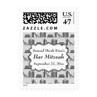 Book Shelf Design Bar Mitzvah Postage
