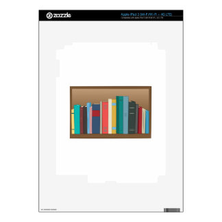 Book Shelf iPad 3 Skin