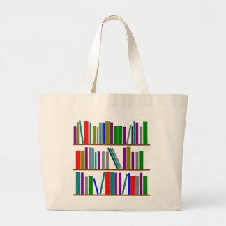 book shelf tote bags zazzle