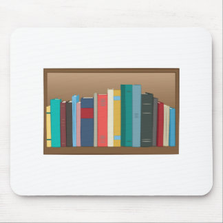 Book Shelf Mouse Pad