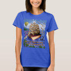 Book Ship Ocean Scene with Emily Dickinson Quote T-Shirt