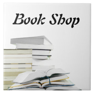 Book Shop Tile Sign Template