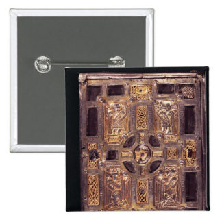 Book-Shrine or Cumdach of Molaise, c.1001-25 2 Inch Square Button