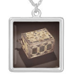 Book-Shrine or Cumdach of Molaise, c.1001-25 Silver Plated Necklace