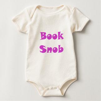 Book Snob Baby Creeper