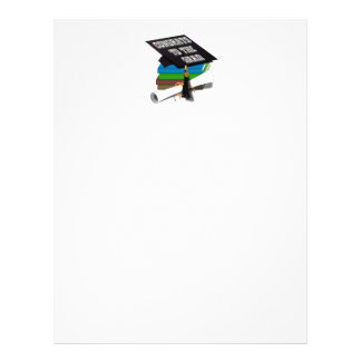"Book Stack ""CONGRATS TO THE GRAD"" Diploma Flyer"