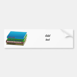 Book Stack Only Bumper Stickers
