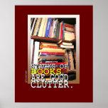Book Stacks Poster