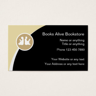 Book Store Business Cards