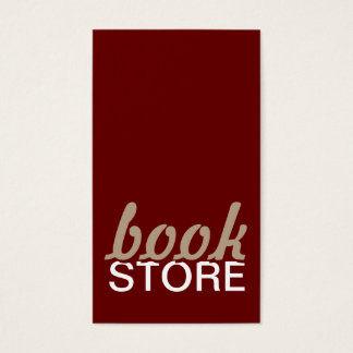 book store punch card