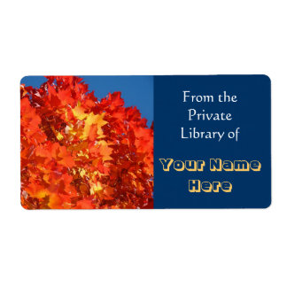 Book Tags From the Private Library Book Labels