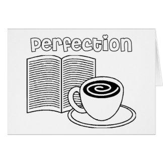Book & Tea Perfection Greeting Card