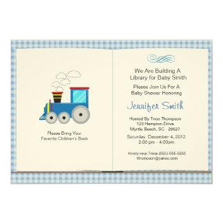 Book Theme Baby Shower Invitation
