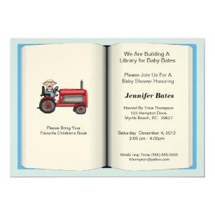 Childrens book baby shower invitations announcements zazzle book theme baby shower invitation boy filmwisefo