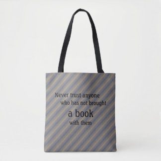 Book Tote - Lemony Snicket Quote