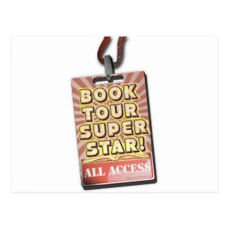 Book Tour Superstar Post Cards