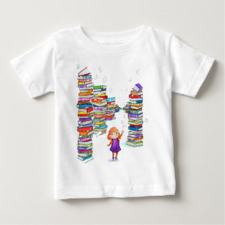Book Tower Baby T-Shirt