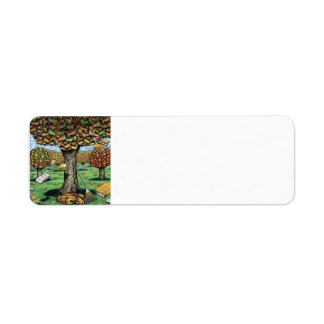 Book Tree Address Labels