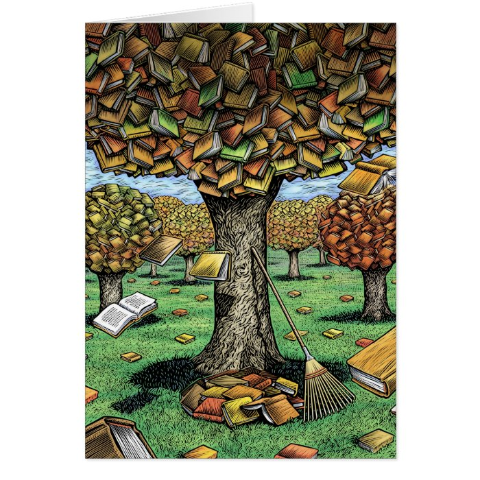 Book Tree Card