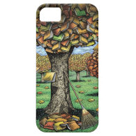 Book Tree iPhone Case iPhone 5 Cover
