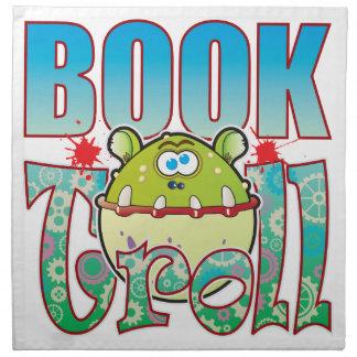 Book Troll Cloth Napkin