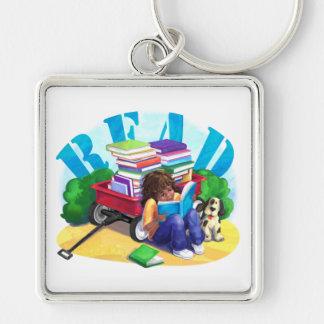 Book Wagon Keychain