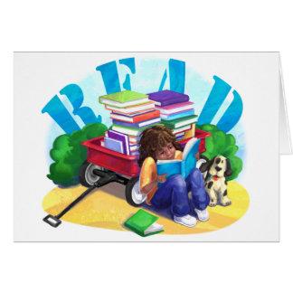 Book Wagon READ Card