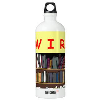 BOOK WATER BOTTLE