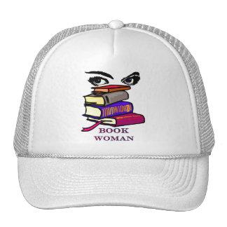 Book Woman Cap Trucker Hat