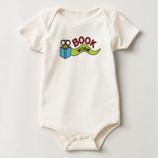 Book Worm Baby Bodysuit
