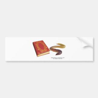 Book Worm Bumper Stickers