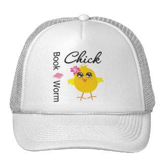 Book Worm Chick Trucker Hat