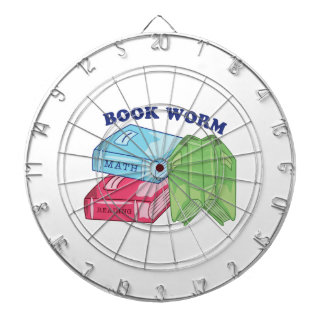 Book Worm Dart Boards