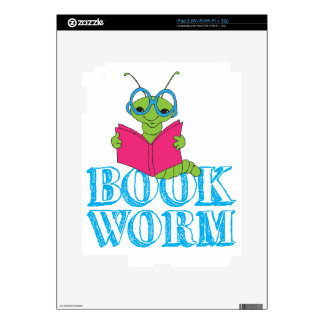 Book Worm Decal For iPad 2