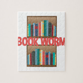 Book Worm Jigsaw Puzzle