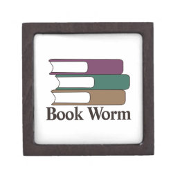 Book Worm Keepsake Box