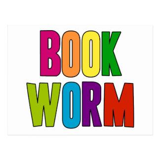 Book Worm Postcard
